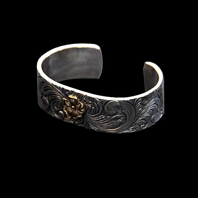 SILVER/18K GOLD